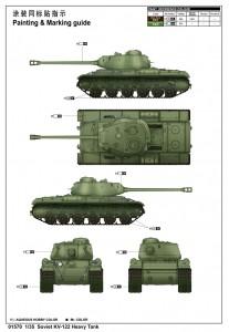 Soviet KV-122 Carro Pesante - Trombettista 01570
