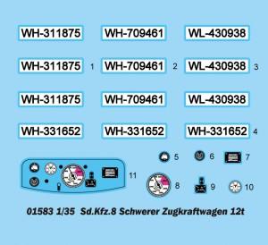 Sd 니다.Kfz 니다.8Schwerer Zugkraftwagen12t-트럼펫 01583