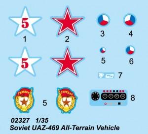Radziecki UAZ-469 łazik - Trębacz 02327