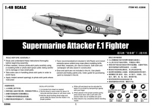 Supermarine Attacker F. 1 Bojovník - Trumpetista 02866