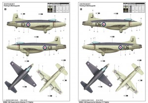Supermarine Attacker F.1 Fighter - Trumpeter 02866