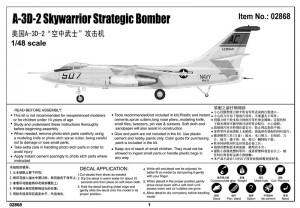 A-3D-2 Skywarrior Strateginen Pommikone - Trumpetisti 02868
