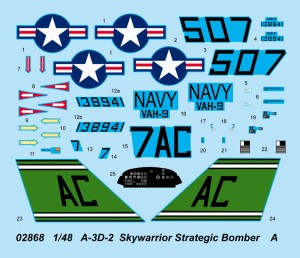 A-3D-2 Skywarrior Strategic Bomber - Trumpeter 02868