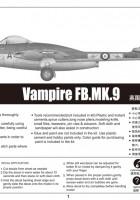 Vampiro FB.MK.9 - Trompetista 02875