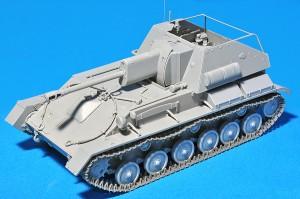 СУ-76М на Съветския задвижва Орудийный изчисляване w/ - 35143 Miniart