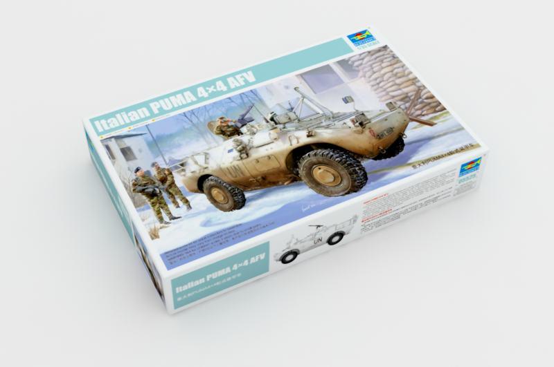 イタリアのプーマ4×4本●パッケージサイズ/重さAFV-トランペット05525