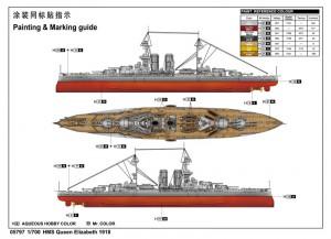 HMS Queen Elizabeth 1918 - Trumpetista 05797