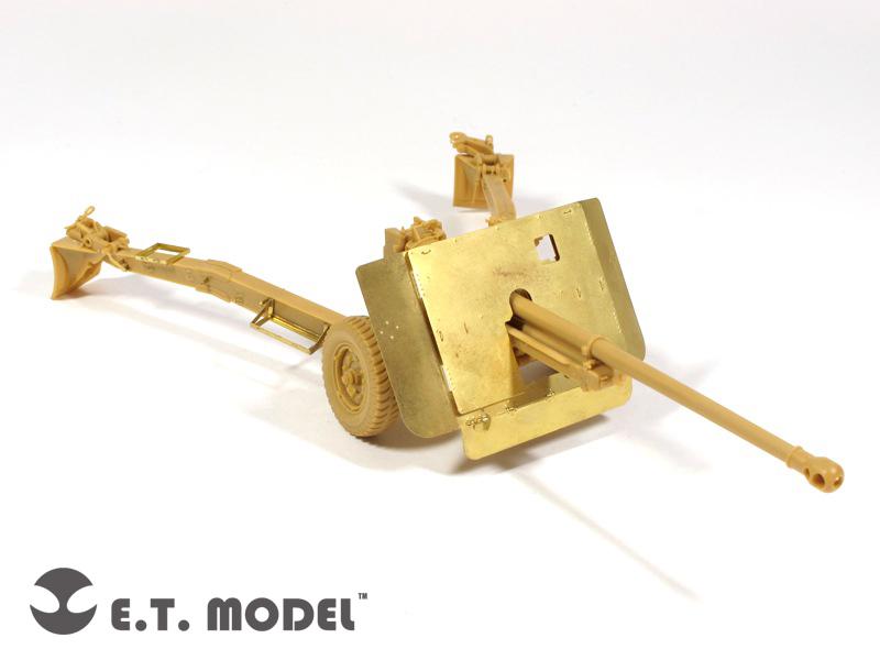 Β ' παγκοσμίου πολέμου το Βρετανικό 17prd αντιαρματικά Όπλο Mk.I - E. T. MODEL E35-039