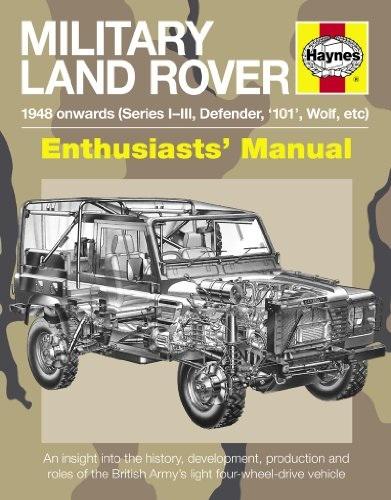 Pat Ware - Militaire Land Rover: De 1948,
