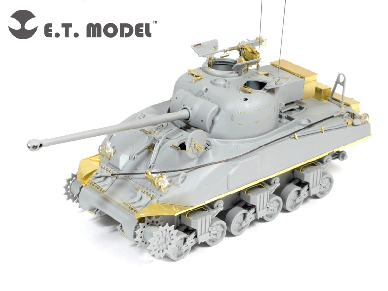Set Britannico Sherman IC Firefly Ibrido - E. T. MODELLO ET35-092