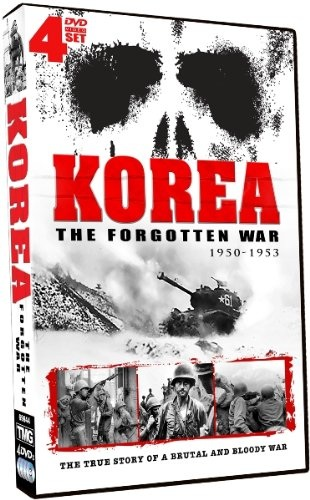 Shout! Factory - Korea The Forgotten War - 4 DVD Set!