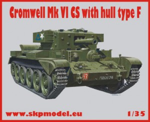 Cromwell MkVI CS with hull type F – SKP 099