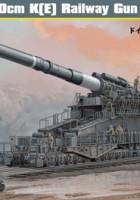 """Tyske 80cm K(E) Jernbane-Gun """"Dora"""" - HOBBY BOSS 82911"""