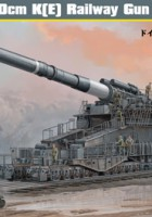 German 80cm K(E) Railway Gun « Dora » - HOBBY BOSS 82911