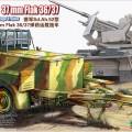 Nemecké Protilietadlové Streliva Preprava Trailer - BRONCO CB35079