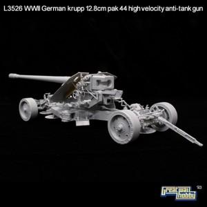 Krup12.8cm Pak44 높은 속도-장성호 L3526