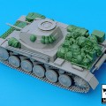 Pz.Kpfw. II Ausf C Accessori Set - BLACKDOG 35032