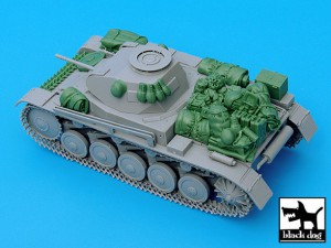 Pz.Kpfw. II Ausf C Accessories Set - BLACKDOG 35032