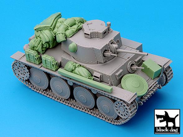 Pz.Kpfw.38 Ausf.G Accessories Set - BLACKDOG 35031