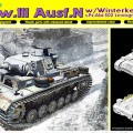 Pz.Kpfw.III Ausf.N w/winter, kettingen s. Pz.Dept.502 - DRAGON 6606