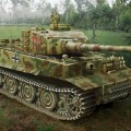 Pz.Kpfw.VI Tiger jag Hibryd – ITALERI 6487
