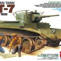 Руски танк БТ-7 модел 1935 – TAMIYA 35309