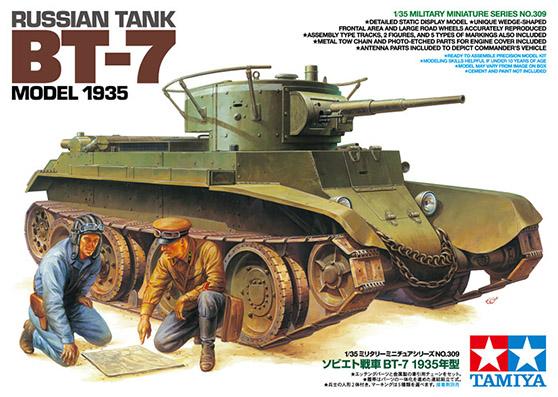 Russian Tank BT-7 Model 1935 – TAMIYA 35309