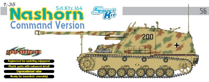 Sd.Kfz.164 Nashorn Käsk - DRAGON 6646