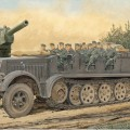 Sd.Kfz.7 8t Demi-Piste en Début de Production w/Équipage - DRAGON 6545