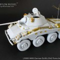 Set Sd.Kfz.234/4 Armored Car - GRIFFON MODEL L35007