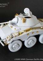 Nastavit Sd.Kfz.234/4 Obrněné Auto - GRIFFON MODEL L35007