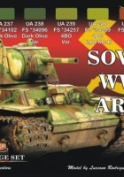 Set Soviet Army WW2 - LIFECOLOR CS23
