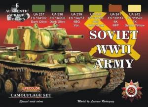 Набір Радянська Армія WW2-LIFECOLOR CS23