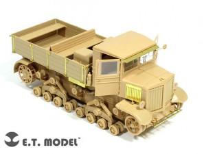 Set Soviet Voroshilovets Tractor – E.T.Model – E35-049