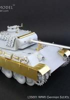設定のためのドイツSd.Kfz.171パンサーキットです。●G–グリフォンモデルL35001