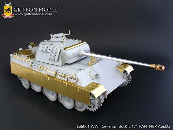 Set For German Sd Kfz 171 Panther Ausf G Griffon Model