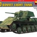 Soviet Light Tank T-80 Special Edition - MINIART 35117