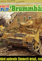 "Stu.Pz.IV ""Brummbar"" Early Production w/Zimmerit - DRAGON 6596"
