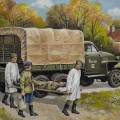 Studebaker US6 with Soviet Medical Personnel - ICM 35513