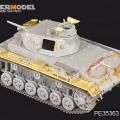 Antrojo pasaulinio KARO vokiečių Pz.KPfw.III Ausf.E/F – VOYAGER PE35363