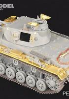 Tysk WWII Pz.KPfw.III Ausf.E/F – VOYAGER PE35363