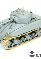 WWII US ARMY M4A1 DV Mid Tank - E.T.Model ET35-051