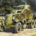 BA-10 Soviética Coche Blindado - Zvezda 3617