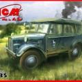Unit-Auto (Kfz.1) duits Personeel Auto - ICM 35521