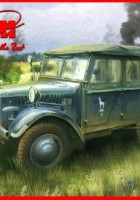 Unit-Pkw (Kfz.1) German Personnel Car - ICM 35521