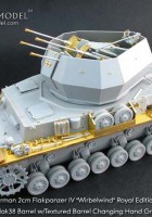 "Flakpanzer IV ""hvirvelvind"" Royal Edition - GRIFFON MODEL S-BPL35006"