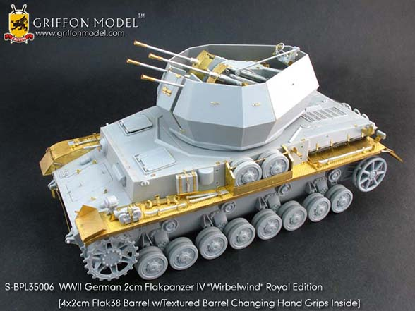 "Flakpanzer IV ""Turbine"" Royal Edition - GRIFFON MODEL S-BPL35006"