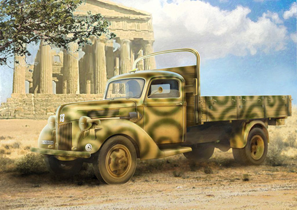 German Army Truck V3000S – ICM 35411