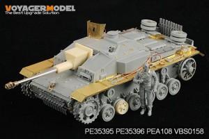 Tyske StuG.III Ausf.F8 Sæt VOYAGER MODEL PE35395