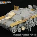 German, Самоходни.III Ausf.F8 fenders Set - ПЪТУВАНЕ PE35396